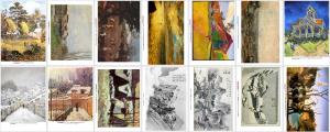 Miniatures des affiches proposées en arts visuels