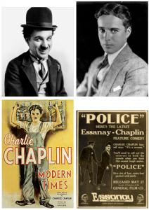 Images et affiches avec Chaplin