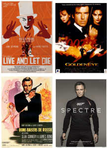 Affiches de James Bond