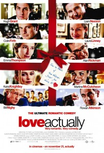"Affiche du film ""Love Actually"""