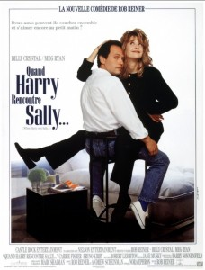"Affiche du film ""Quand Harry rencontre Sally"""