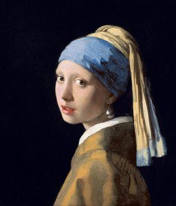 La jeune fille à la perle, peinture de Vermeer
